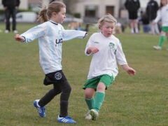 MGL U-10 girls show how it's done!