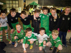 U-10s enjoy the big time in Stradbrook