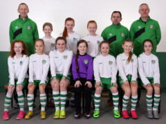 U-12 girls' home semi on Saturday