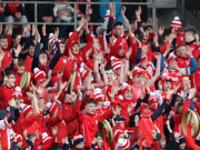Best wishes to neighbours Cuala