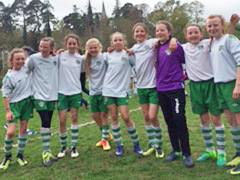 Girls enjoy their Enniskerry weekend