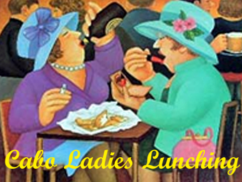 Ladies lunching on Saturday