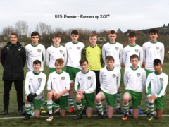 U-15s go nap to take second!
