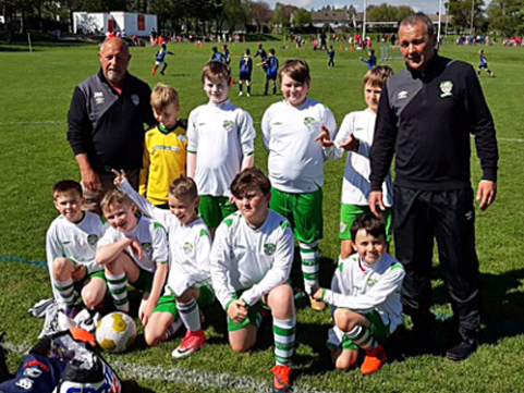 U-11s enjoy themselves in Dalkey