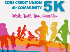 Tenth DLRCoCo 5k on October 6