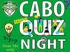 Club table quiz next month
