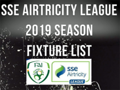 SSE Airtricity League 2019 – fixtures