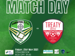 Club's first ever game with Treaty